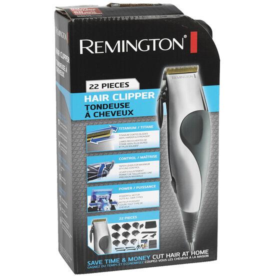 Remington Precision Haircut Kit - 22 piece - HC2000ACDN/3