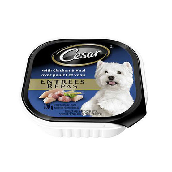 Pedigree Cesar Dog Food - Chicken and Veal - 100g