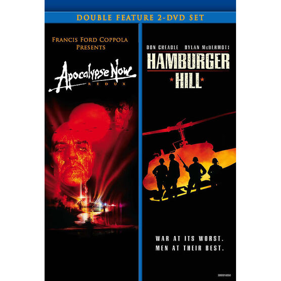 Double Feature: Apocolypse Now/Hamburger Hill - DVD