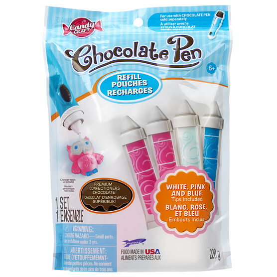 Candy Craft Chocolate Pen Refill - Coloured