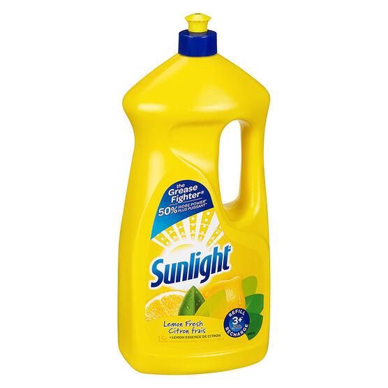 Sunlight Dishwashing Liquid - Lemon - 1.5L