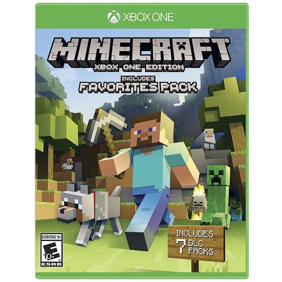 Xbox One Minecraft Favorites Pack