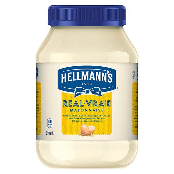 Hellmann's Real Mayonnaise - 890ml