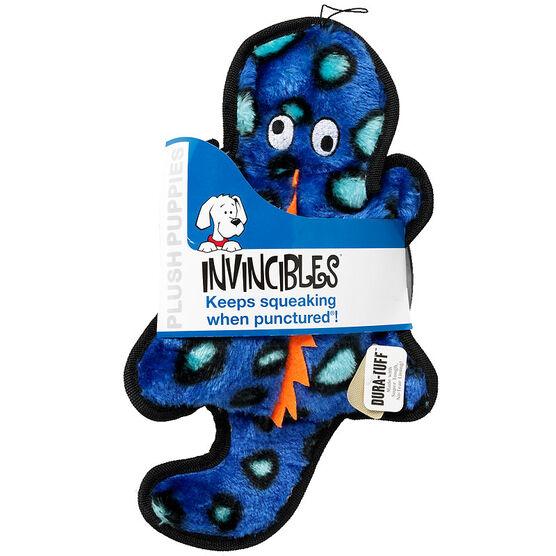 Kyjen Invincibles Gecko - Small - Blue