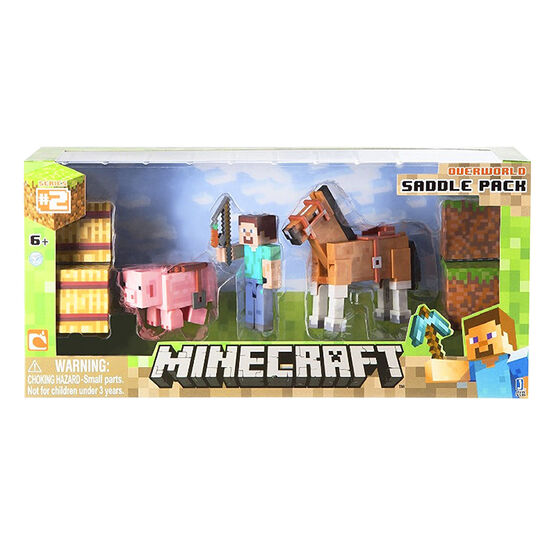 Minecraft Overworld Figure Saddle Pack - 16586RP