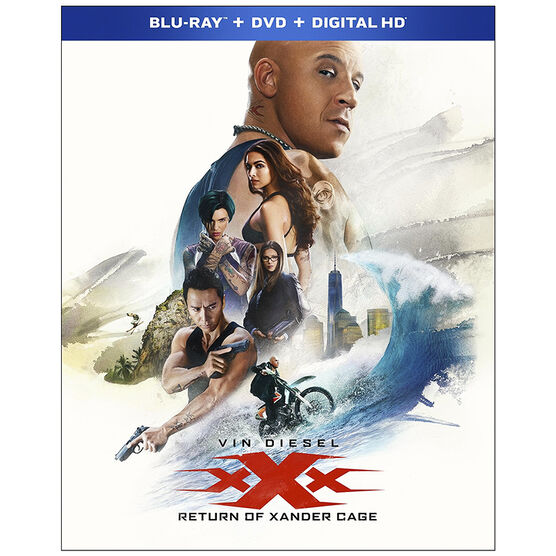 xXx: Return of Xander Cage - Blu-ray