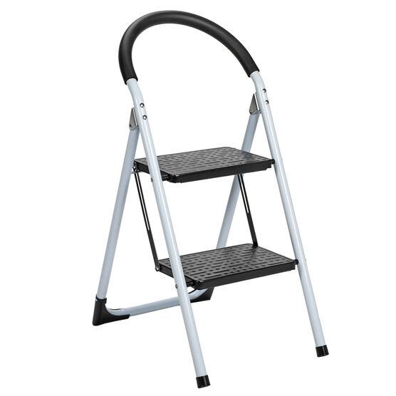 London Drugs Folding 2 Step Ladder - Max 150kg - Assorted