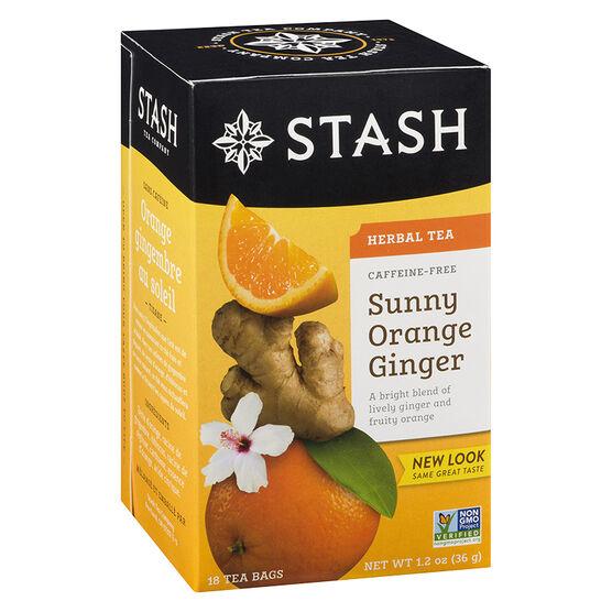 Stash Tea - Orange Ginger - 18's