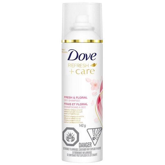 Dove Refresh +Care Dry Shampoo - Fresh & Floral - 142g
