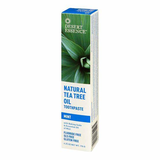 Desert Essence Tea Tree Oil Toothpaste with Mint - 176g