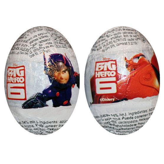 Zaini Chocolate Egg - Big Hero Six - Assorted - 20g