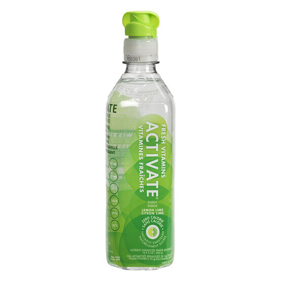 Activate Water - Lemon Lime - 500ml