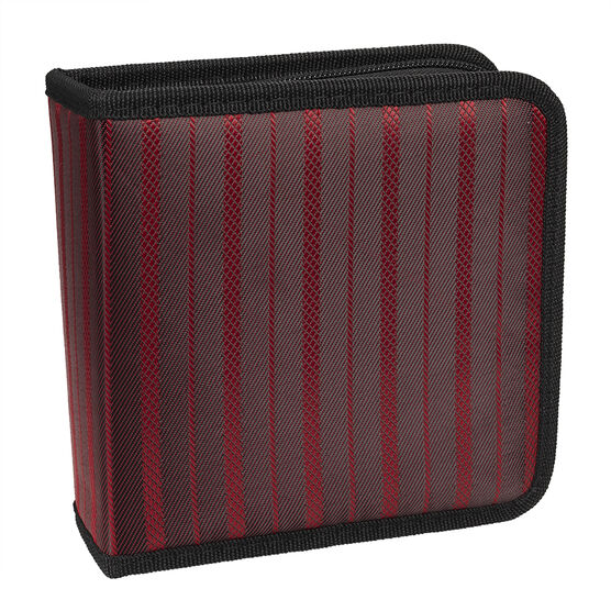 Certified Data 40 CD Wallet - Red - CD-40B RED