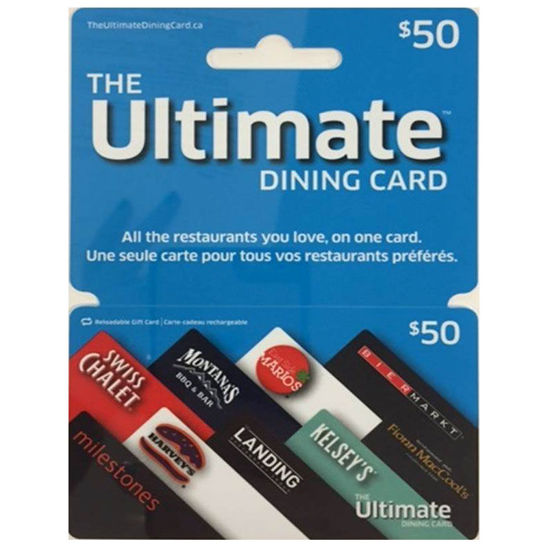 Cara Ultimate Dining Gift Card - $50   London Drugs