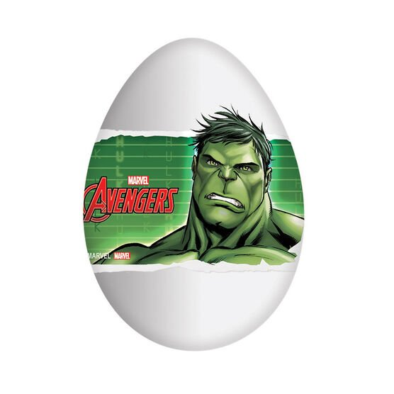 Marvel Avengers Chocolate Egg - Assorted - 20g