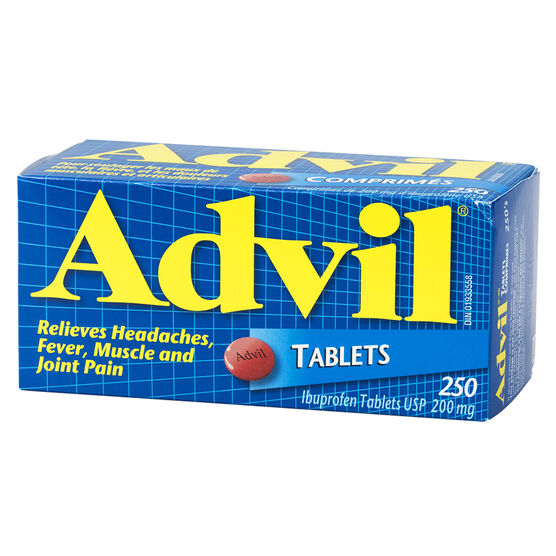 Advil Ibuprofen Tablets - 250's