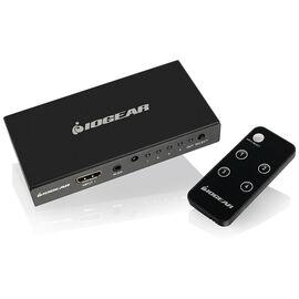 IOGEAR 4K 4-Port HDMI Switch with Remote - GHDSW4K4