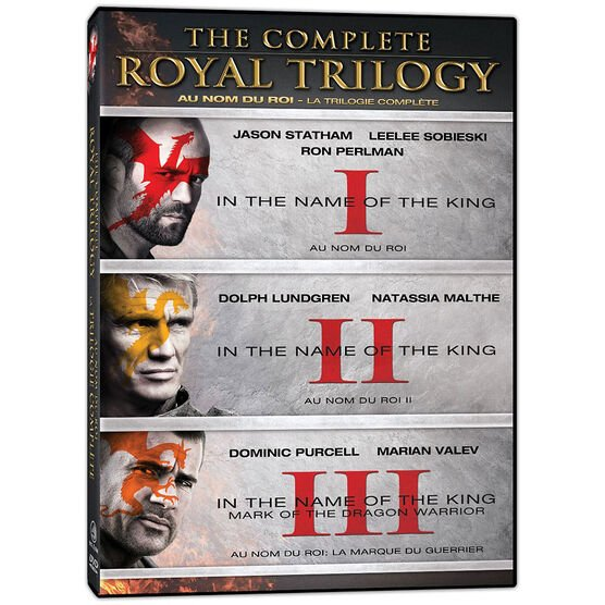 In The Name Of The King: The Complete Royal Trilogy - DVD