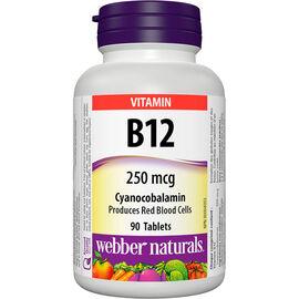 Webber Naturals B12 250mcg - 90's
