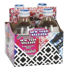New York Seltzer - Raspberry - 4 x 296ml