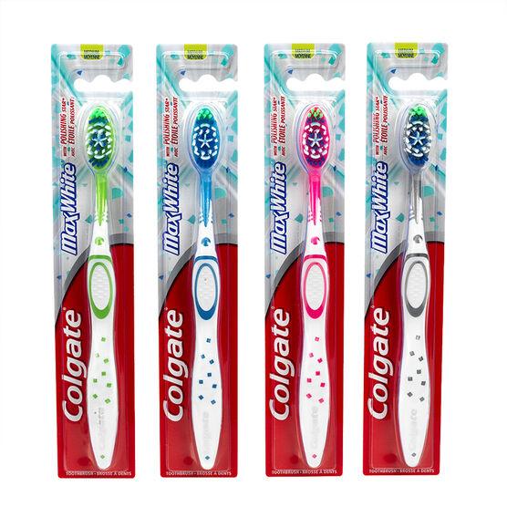 Colgate MaxWhite Toothbrush - Medium