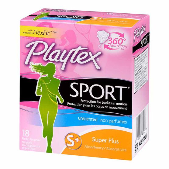 Playtex Sport Tampons - Super - 18's