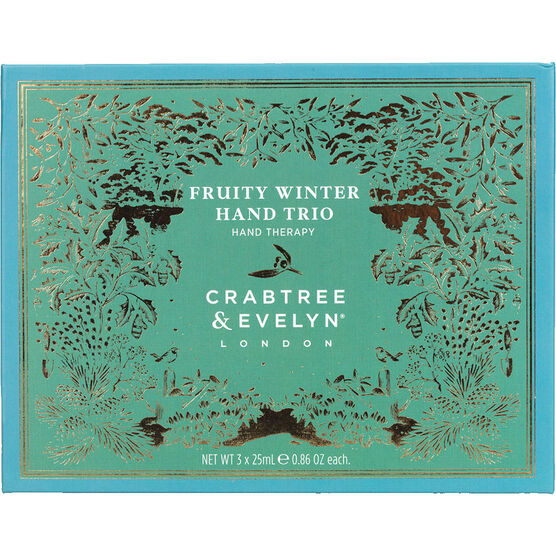 Crabtree & Evelyn Fruity Winter Hand Trio - 3x25g