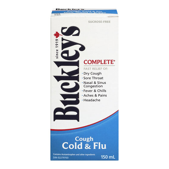 Buckley's Complete Cough Cold & Flu - 150ml