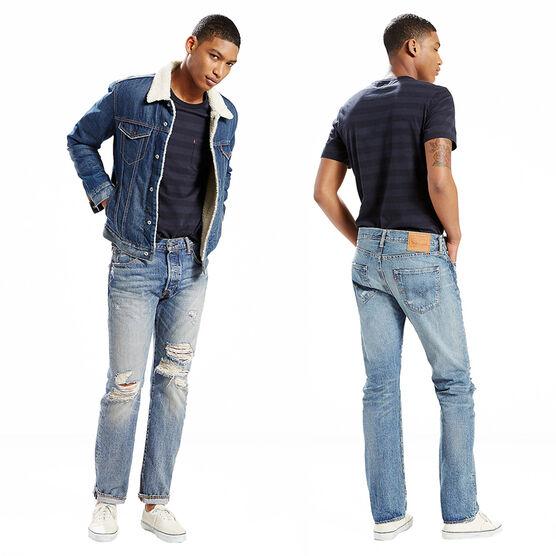 Levi's 501 Designer Jeans - Rain Forest