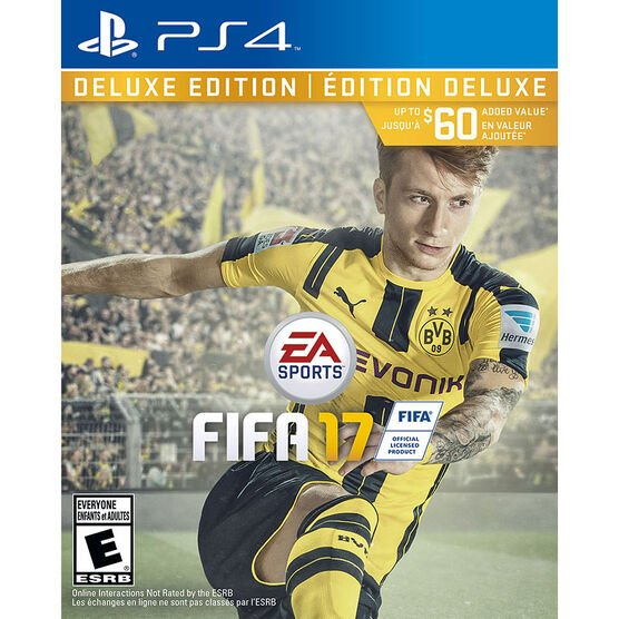 PS4 EA Sports FIFA 17 Deluxe Edition