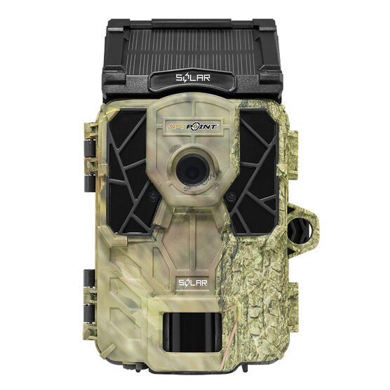 SPYPOINT SOLAR Trail Camera - Camo - SOLAR