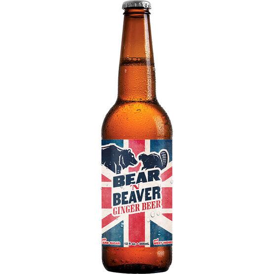 Bear 'n Beaver Ginger Beer - 355ml