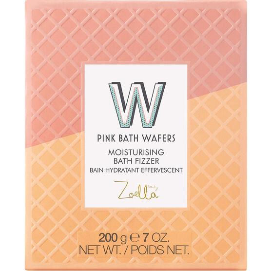 Zoella Beauty Jelly and Gelato Pink Bath Wafers Moisturizing Bath Fizzer - 200g
