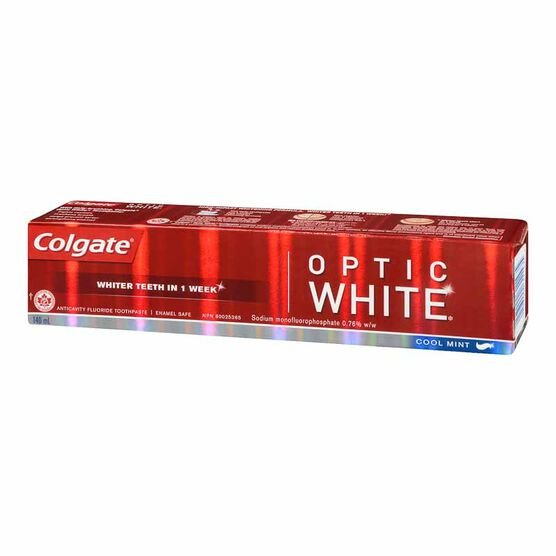 Colgate Optic White Toothpaste - Cool Mint - 140ml