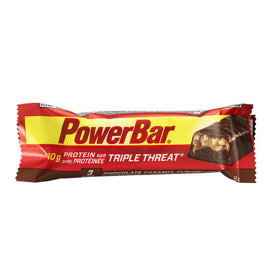 PowerBar Triple Threat - Caramel Peanut Fusion - 53g