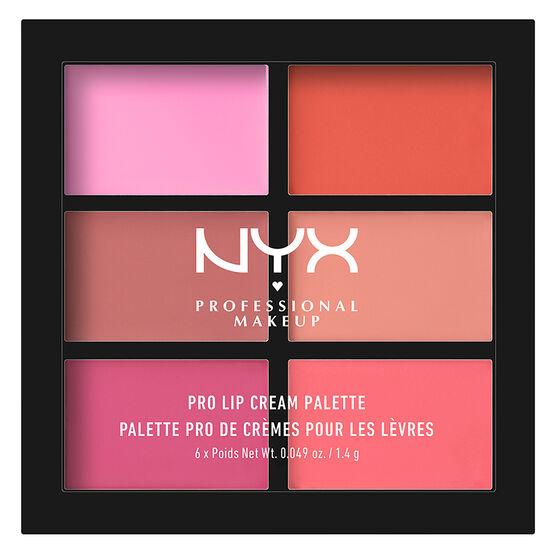 NYX Professional Makeup Pro Lip Cream Palette - Pink