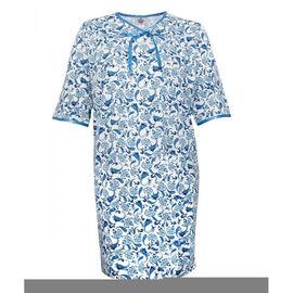 Silvert's Women's Bow-Trim Open-Back Nightgown - Small - XL