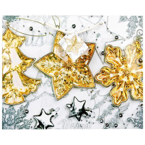 Christmas Gift Bag STR-Ball-Raindeer - Large - Assorted