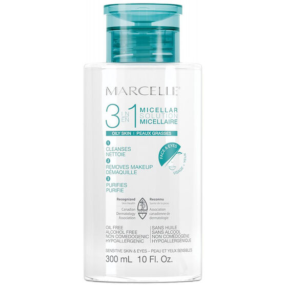Marcelle 3-in-1 Micellar Solution for Oily Skin - 300ml