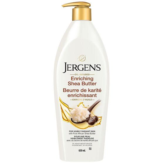 Jergens Shea Butter Deep Conditioning Moisturizer - 620ml