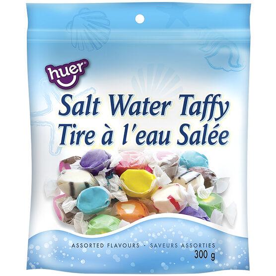 Huer Salt Water Taffy - Assorted Flavours - 300g