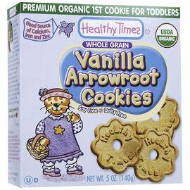 Healthy Time Organic Arrowroot Cookies - Vanilla - 140g