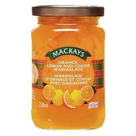 Mackays Marmalade - Orange and Lemon with Ginger - 250ml