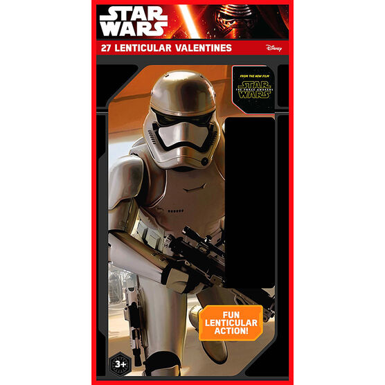 Star Wars Lenticular Valentines - 27s - 4194025