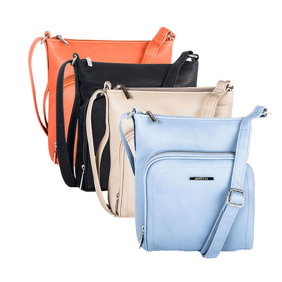 Roots Faux Leather Handbag - Assorted