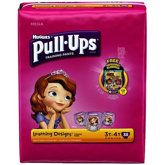 Pull Ups Training Pants - Girls - Size 3-4 - 38's