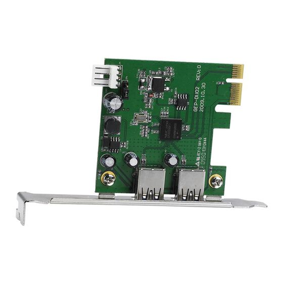 Certified Data USB 3.0 PCIE Card - GUH-3901