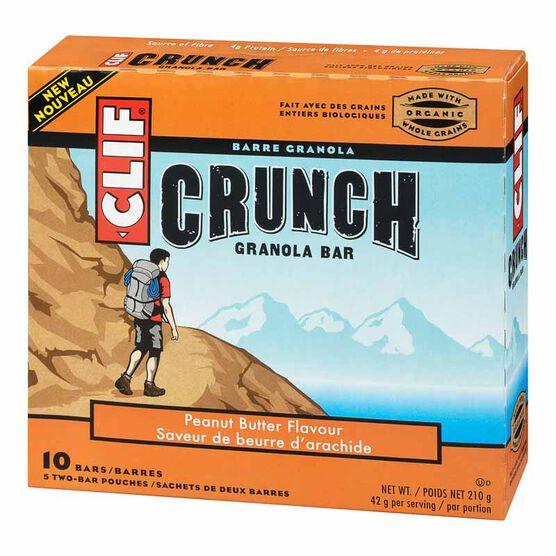Clif Crunch Bar - Peanut Butter - 5 x 42g