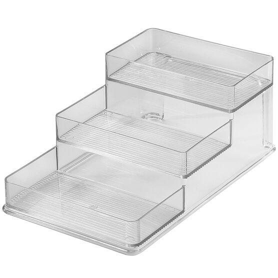 InterDesign Linus Stadium Spice Rack - Clear - 62030