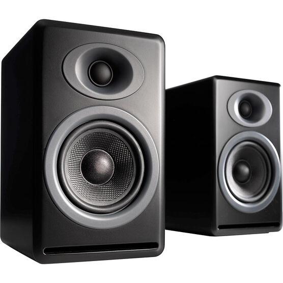 Audioengine P4 Passive Bookshelf Speakers - Black - AP4B